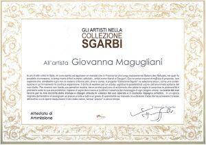 Collezione-Sgarbi-Attestato-di-ammissione-300x212
