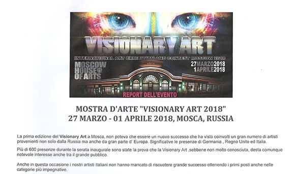 Visionary Art – International Art Exhibition and Contest Mosca